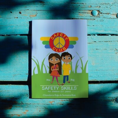 Safety Skills Book for Children 2 to 7 years